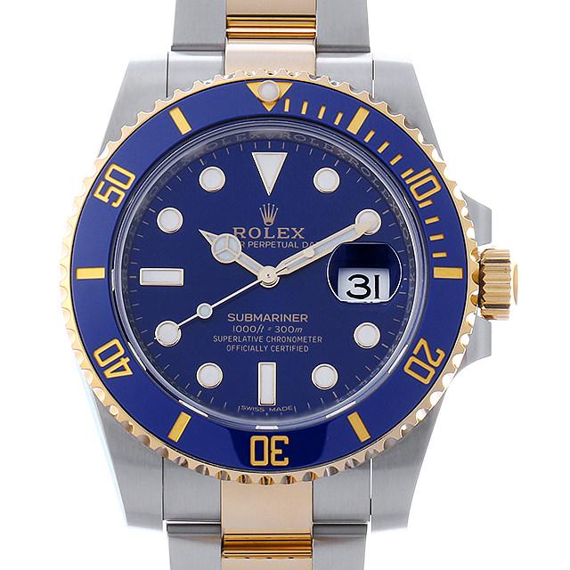 【48回払いまで無金利】ロレックス サブマリーナ デイト ランダムシリアル 116613LB ブルー メンズ(0J71ROAU0001)【中古】【腕時計】【送料無料】