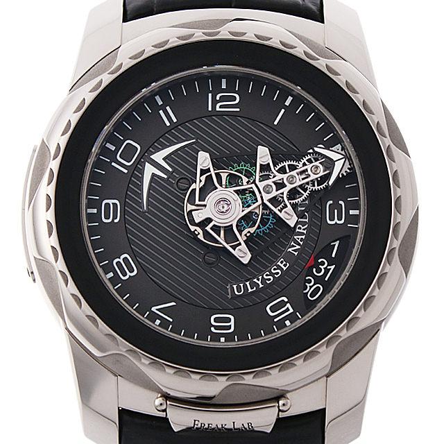 【48回払いまで無金利】ユリスナルダン フリーク ラボ 2100-138 メンズ(0J97UNAU0001)【中古】【腕時計】【送料無料】