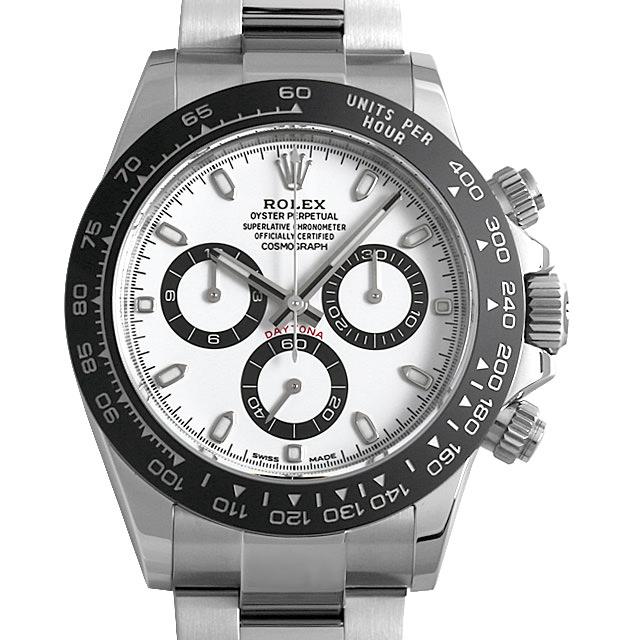 【48回払いまで無金利】ロレックス コスモグラフ デイトナ 116500LN ホワイト メンズ(0JAAROAU0001)【中古】【腕時計】【送料無料】