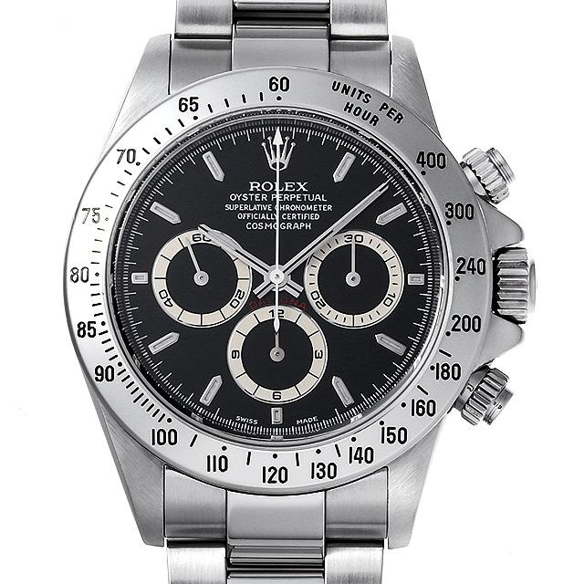 【48回払いまで無金利】ロレックス コスモグラフ デイトナ A9番 16520 ブラック メンズ(0JABROAU0001)【中古】【腕時計】【送料無料】