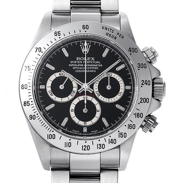 【48回払いまで無金利】ロレックス コスモグラフ デイトナ P番 16520 ブラック メンズ(0JAUROAU0001)【中古】【腕時計】【送料無料】