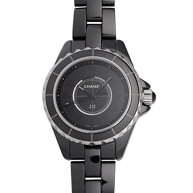 【48回払いまで無金利】シャネル J12 インテンスブラック H4196 レディース(0671CHAN0339)【新品】【腕時計】【送料無料】