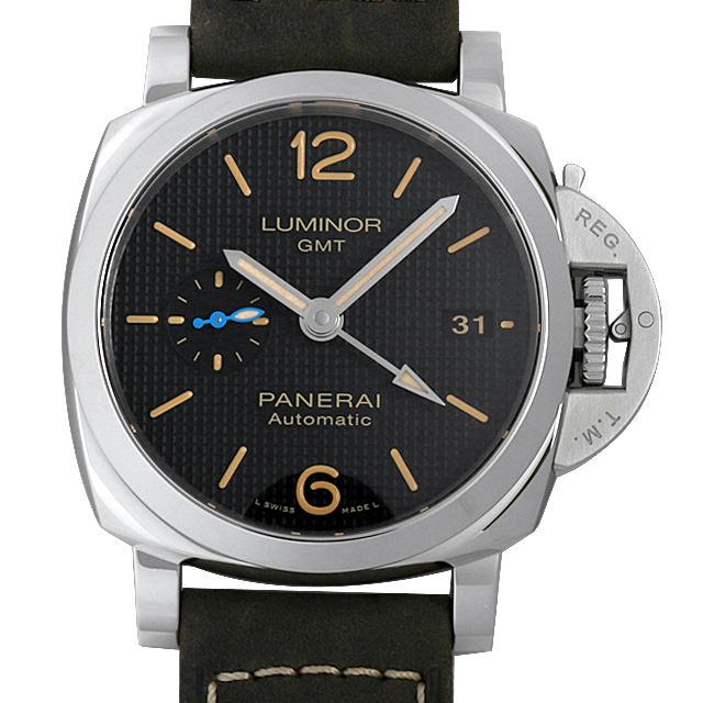 【48回払いまで無金利】パネライ ルミノール1950 3デイズ GMT オートマティック アッチャイオ PAM01535 メンズ(0FHMOPAN0019)【新品】【腕時計】【送料無料】