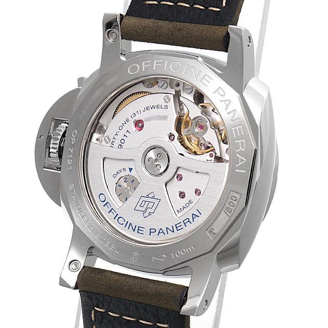 【48回払いまで無金利】パネライ ルミノール1950 3デイズ GMT オートマティック アッチャイオ PAM01535 メンズ(0FHMOPAN0019)【新品】【腕時計】【】