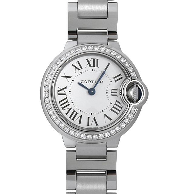 【48回払いまで無金利】カルティエ バロンブルー SM W4BB0015 レディース(006MCAAN0006)【新品】【腕時計】【送料無料】