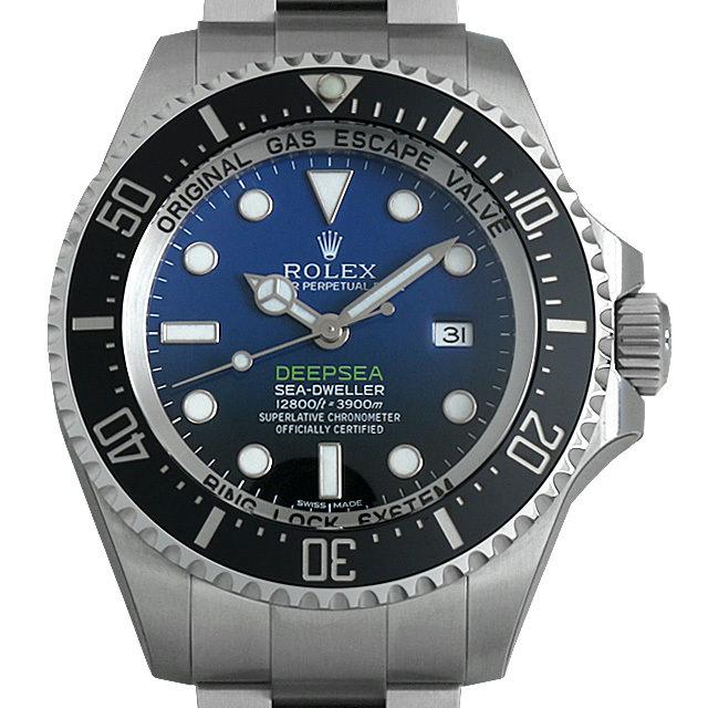 【48回払いまで無金利】ロレックス ディープシー D-BLUEダイアル 116660 メンズ(0B4XROAS0002)【中古】【未使用】【腕時計】【送料無料】