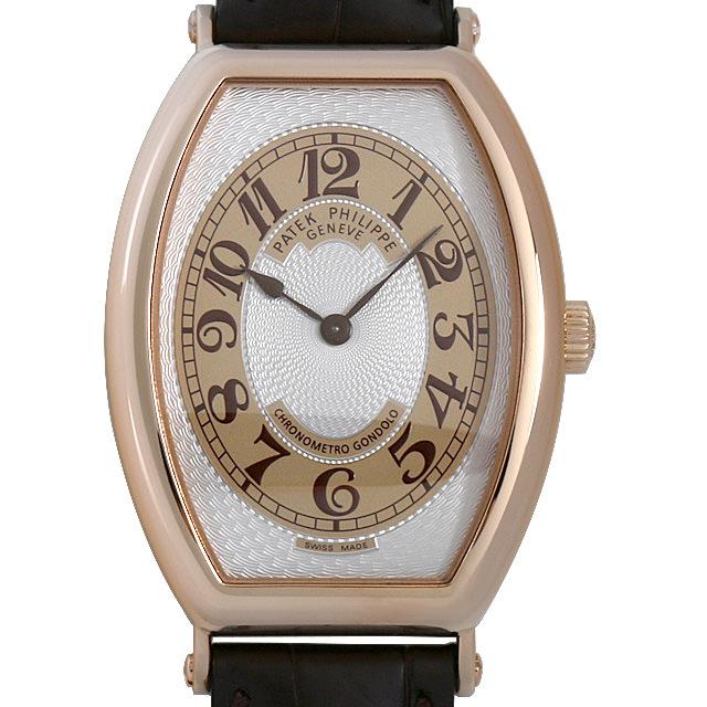 SALE パテックフィリップ ゴンドーロ クロノメトロ 5098R-001 メンズ(007UPPAU0127)【中古】【腕時計】【送料無料】