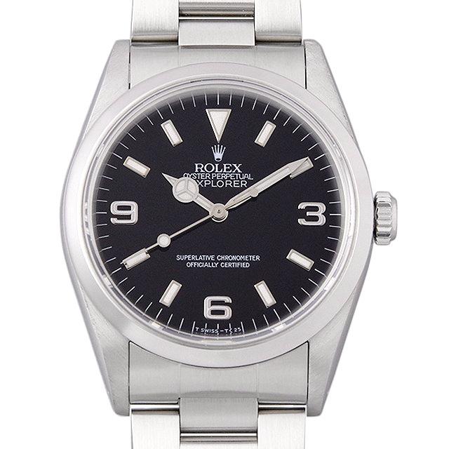 ロレックス エクスプローラーI S番 14270 メンズ(007UROAU0356)【中古】【腕時計】【送料無料】