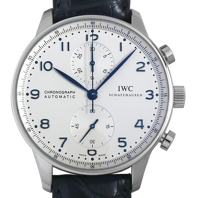 【48回払いまで無金利】IWC ポルトギーゼ クロノグラフ IW371446 メンズ(0BCCIWAU0004)【中古】【腕時計】【送料無料】