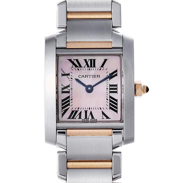 カルティエ タンクフランセーズ SM W51027Q4 レディース(001HCAAU0114)【中古】【腕時計】【送料無料】