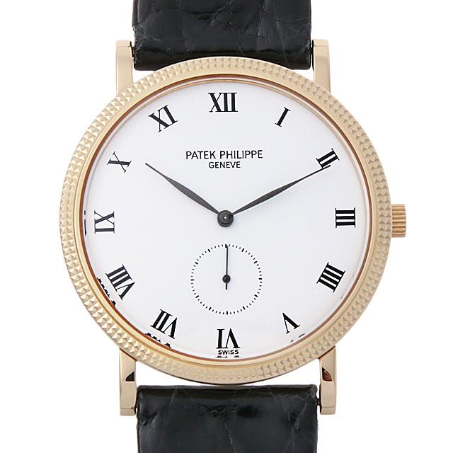 パテックフィリップ カラトラバ 3919J メンズ(001HPPAU0066)【中古】【腕時計】【送料無料】