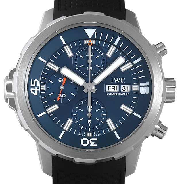 【48回払いまで無金利】IWC アクアタイマー クロノグラフ エクスペディション ジャック=イヴ・クストー IW376805 メンズ(006XIWAU0118)【中古】【腕時計】【送料無料】