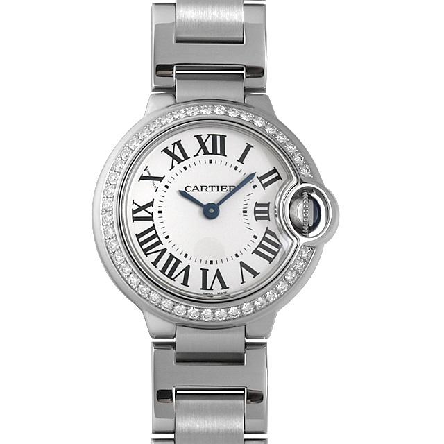 【48回払いまで無金利】カルティエ バロンブルー SM W4BB0015 レディース(007UCAAU0135)【中古】【腕時計】【送料無料】