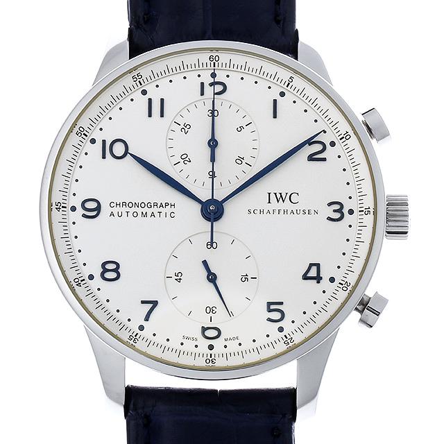 IWC ポルトギーゼ クロノグラフ IW371417 メンズ(007UIWAU0119)【中古】【腕時計】【送料無料】