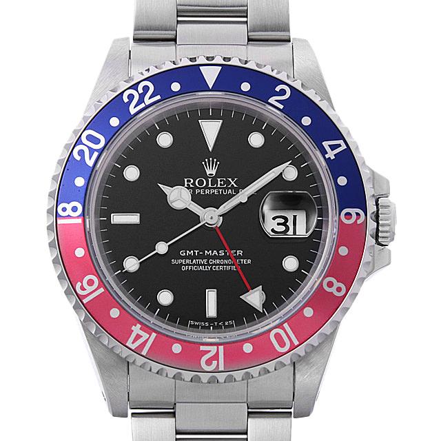 ロレックス GMTマスター 赤青ベゼル T番 16700 メンズ(008WROAU0250)【中古】【腕時計】【送料無料】