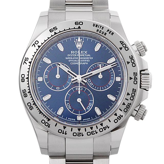 【48回払いまで無金利】SALE ロレックス コスモグラフ デイトナ ランダムシリアル 116509 ブルー メンズ(03RBROAU0002)【中古】【腕時計】【送料無料】
