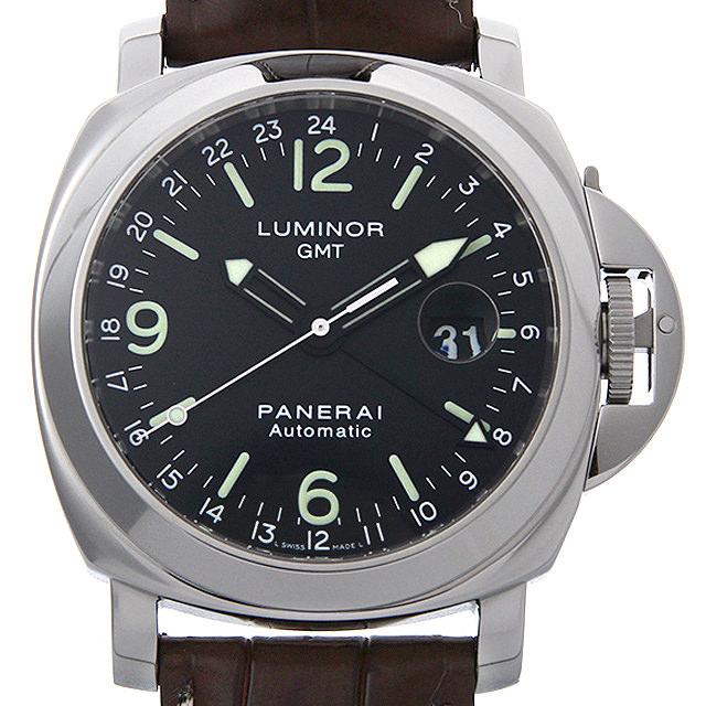 パネライ ルミノールGMT C番 PAM00063 メンズ(0A89OPAU0010)【中古】【腕時計】【送料無料】