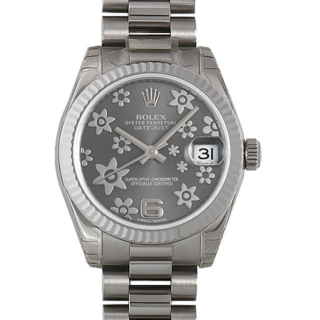 ロレックス デイトジャスト 178279 グレーフラワー ボーイズ(ユニセックス)(009FROAR0013)【新品】【腕時計】【送料無料】