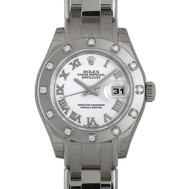 ロレックス デイトジャスト 80319 ホワイト/ローマ レディース(009FROAR0014)【新品】【腕時計】【送料無料】