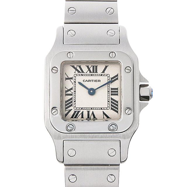 【48回払いまで無金利】カルティエ サントスガルベ SM W20056D6 レディース(007UCAAU0146)【中古】【腕時計】【送料無料】