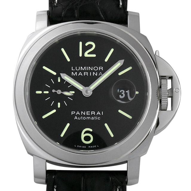 パネライ ルミノールマリーナ Q番 PAM00104 メンズ(007UOPAU0110)【中古】【腕時計】【送料無料】