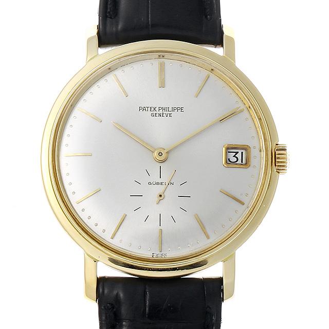 SALE パテックフィリップ カラトラバ GUBELINダブルネーム 3445J メンズ(007UPPAA0010)【アンティーク】【腕時計】【送料無料】