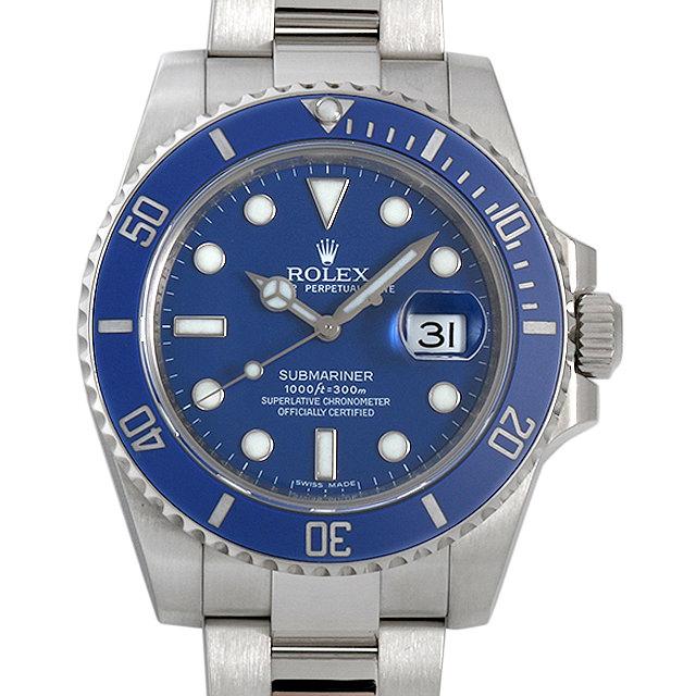 SALE ロレックス サブマリーナ デイト M番 116619LB ブルー メンズ(009MROAU0171)【中古】【腕時計】【送料無料】