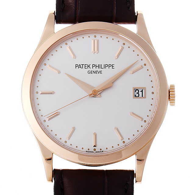 パテックフィリップ カラトラバ 5296R-010 メンズ(0IYPPPAU0002)【中古】【腕時計】【送料無料】