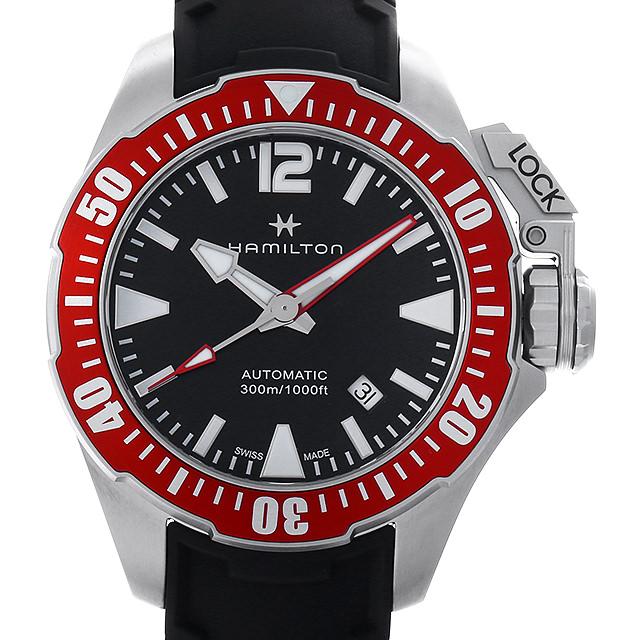 【48回払いまで無金利】ハミルトン カーキネイビー オープンウォーター H77725335 メンズ(006THMAN0148)【新品】【腕時計】【送料無料】