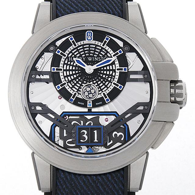 ハリーウィンストン オーシャン プロジェクト Z11 世界限定300本 OCEABD42ZZ001 メンズ(006XHWAU0043)【中古】【腕時計】【送料無料】