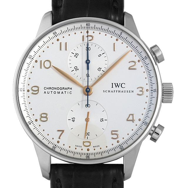 IWC ポルトギーゼ クロノグラフ IW371445 メンズ(006XIWAU0132)【中古】【腕時計】【送料無料】