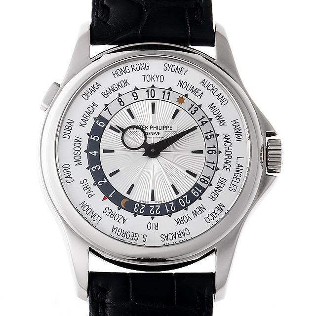 パテックフィリップ ワールドタイム 5130G-001 メンズ(006XPPAU0120)【中古】【腕時計】【送料無料】