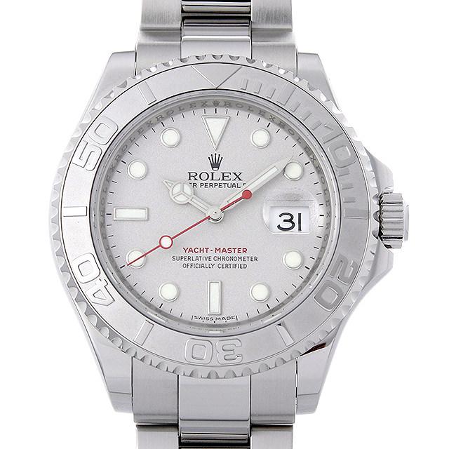 【48回払いまで無金利】ロレックス ヨットマスター ロレジウム Z番 16622 シルバー メンズ(006XROAU0949)【中古】【腕時計】【送料無料】