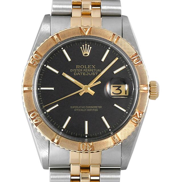 【48回払いまで無金利】ロレックス デイトジャスト サンダーバード 1625 ブラック/バー 47番 メンズ(007UROAA0091)【アンティーク】【腕時計】【送料無料】