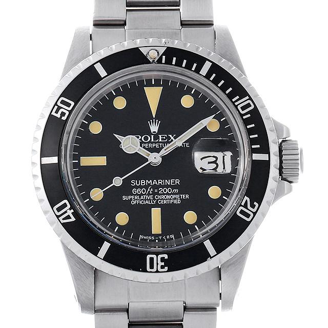 【48回払いまで無金利】ロレックス サブマリーナ デイト Cal.1570 50番 1680 メンズ(007UROAA0107)【アンティーク】【腕時計】【送料無料】