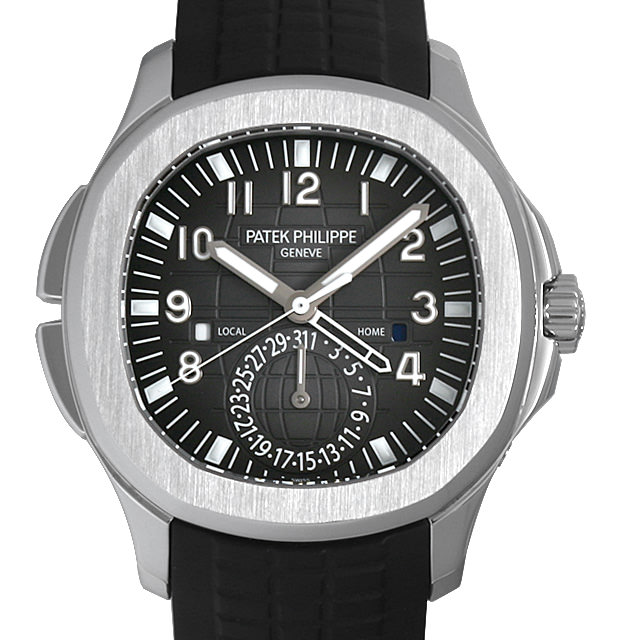 パテックフィリップ アクアノート トラベルタイム 5164A-001 メンズ(039EPPAU0001)【中古】【腕時計】【送料無料】