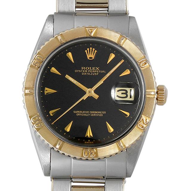 SALE 【48回払いまで無金利】ロレックス デイトジャスト サンダーバード 1625 ブラックミラー/リベットブレス 14番 メンズ(0KEDROAA0001)【アンティーク】【腕時計】【送料無料】