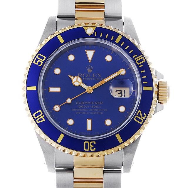 【48回払いまで無金利】SALE ロレックス サブマリーナ デイト S番 16613 ブルー メンズ(0KXEROAU0001)【中古】【腕時計】【送料無料】
