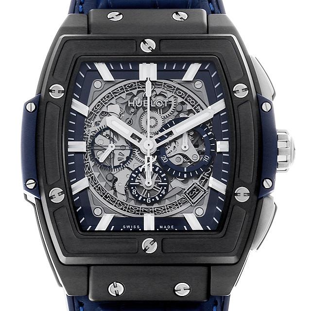 ウブロ スピリットオブビッグバン セラミックブルー 601.CI.7170.LR メンズ(009FHBAN0147)【新品】【腕時計】【送料無料】