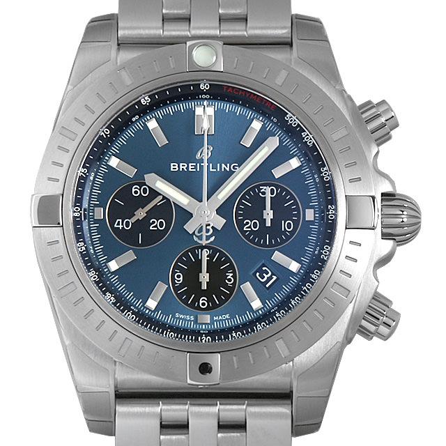 【48回払いまで無金利】ブライトリング クロノマットB01 クロノグラフ44 AB01C-1PA(AB0115) メンズ(0671BRAN0032)【新品】【腕時計】【送料無料】