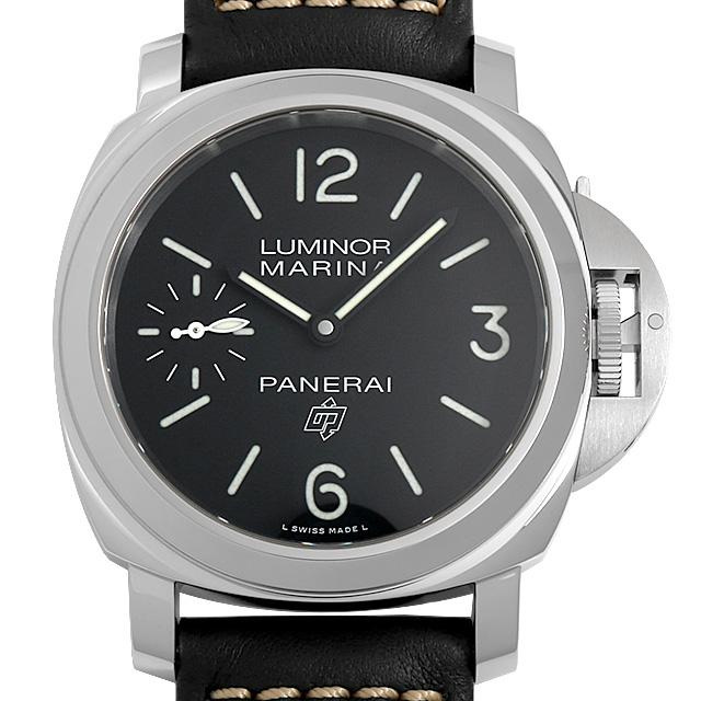 パネライ ルミノール マリーナ ロゴ 3デイズ アッチャイオ U番 PAM00776 メンズ(002NOPAN0044)【新品】【腕時計】【送料無料】