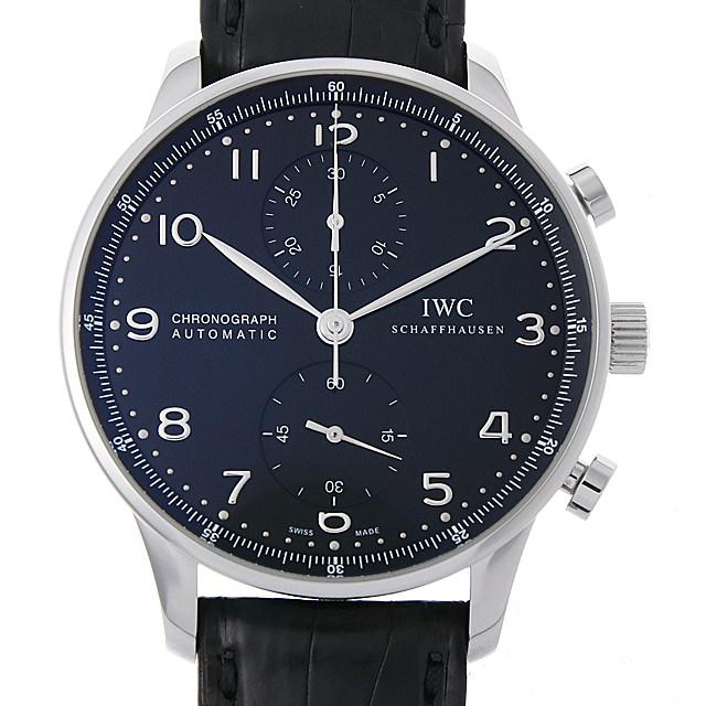 IWC ポルトギーゼ クロノグラフ IW371447 メンズ(001HIWAU0076)【中古】【腕時計】【送料無料】