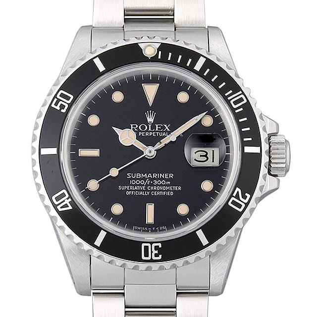 ロレックス サブマリーナ デイト 16800 フチ有り 89番 メンズ(0063ROAU0262)【中古】【腕時計】【送料無料】