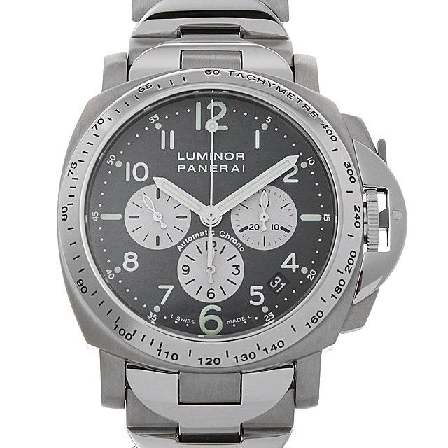 パネライ ルミノールクロノグラフ E番 PAM00121 メンズ(006XOPAU0149)【中古】【腕時計】【送料無料】