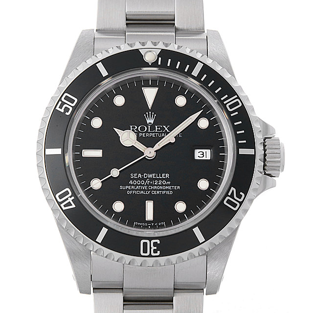 【48回払いまで無金利】ロレックス シードゥエラー 16600 W番 メンズ(006XROAU0971)【中古】【腕時計】【送料無料】