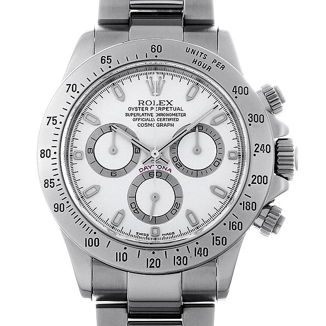 【48回払いまで無金利】SALE ロレックス コスモグラフ デイトナ 116520 ホワイト K番 メンズ(006XROAU0978)【中古】【腕時計】【送料無料】