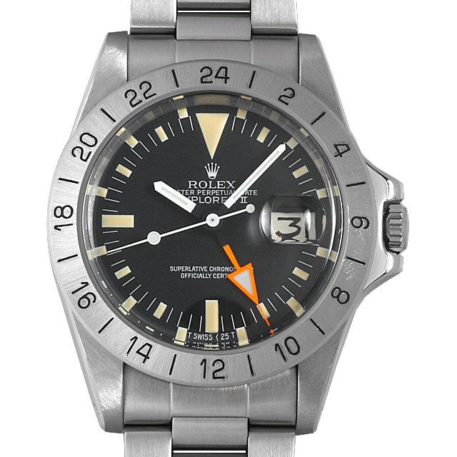 【48回払いまで無金利】ロレックス エクスプローラーII 1655 54番 メンズ(007UROAA0106)【アンティーク】【腕時計】【送料無料】