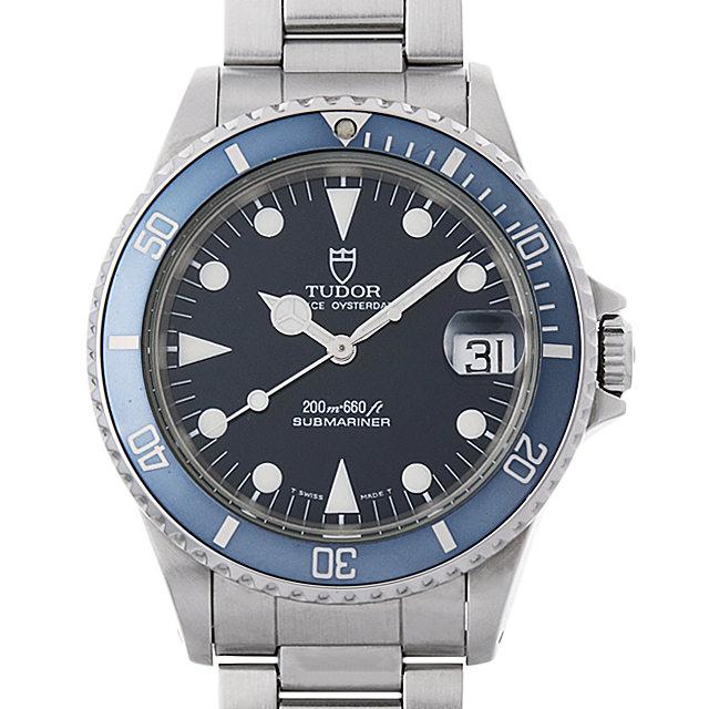【48回払いまで無金利】チューダー サブマリーナ デイト 75090 ブルー メンズ(007UTUAU0034)【中古】【腕時計】【送料無料】