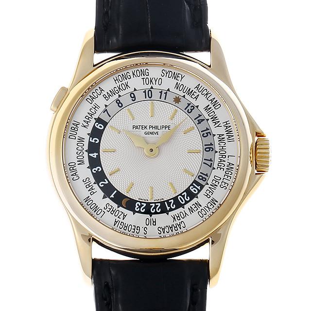 【48回払いまで無金利】パテックフィリップ ワールドタイム 5110J-001 メンズ(009SPPAU0003)【中古】【腕時計】【送料無料】