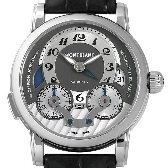 b31dcf3d08 ... モンブラン ニコラ・リューセック モノプッシャー 102337 メンズ(08MOMLAU0001)【中古】【腕時計】【送料無料】【 48回払いまで無金利】 クロノグラフ-メンズ腕時計